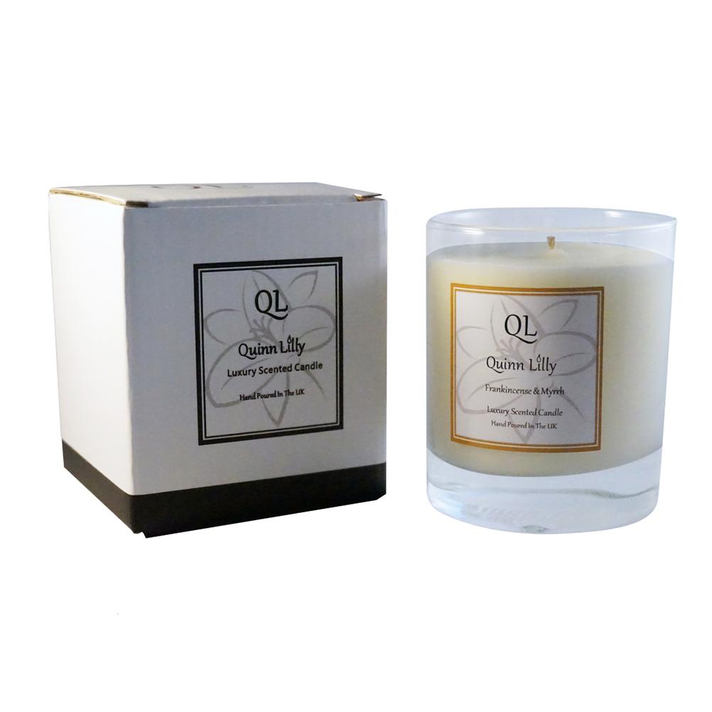 Quinn Lilly, Luxury Home Fragrances, Frankincense and Myrrh ...