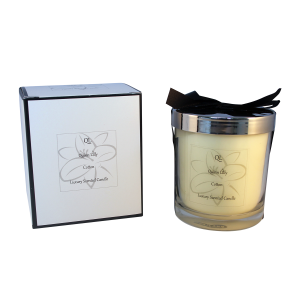 cotton soy candle