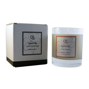 ginger and nutmeg soy candle